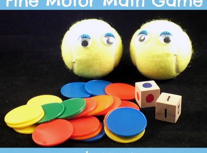 craft for kids from tennis ball - Google Search