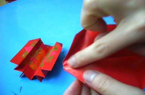 How to make a koi from lucky red envelope for Ang pow koi fish tutorial