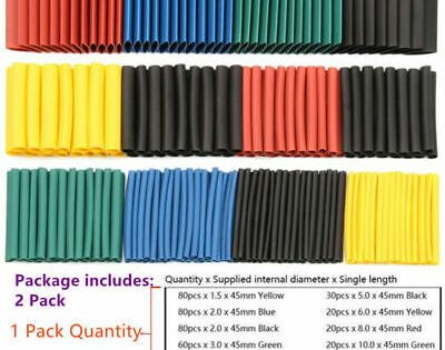 Ad Ebay 1060pcs Set Heat Shrink Tubing Insulated Electrical Connection Cable Sleeving Heat Shrink Tubing