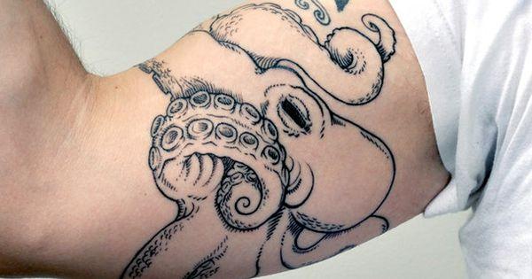 Octopus tattoo patterns tattoo design