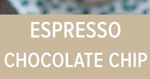 Espresso Chocolate Chip Ice Cream | Recipe | Espresso, Chocolate Chips ...