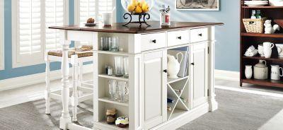 Ultimate Expertise Ltd Pemberton 3 Pc Counter Height Kitchen Set