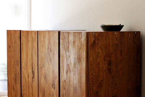 Love These Stained Pine Ikea Ivar Cabinets Very Classy
