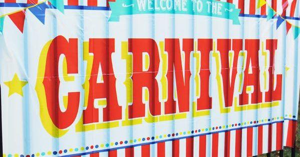 carnival sign decoration banner