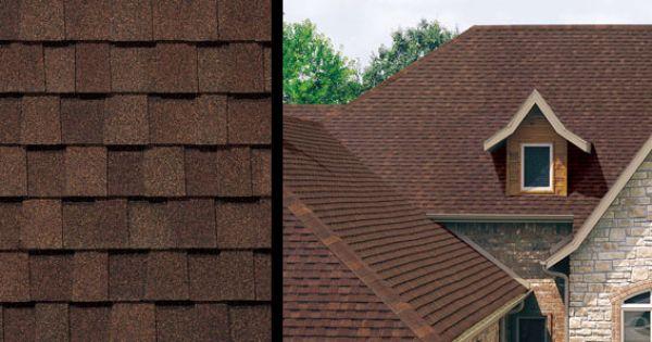 Roof Tamko Heritage Rustic Redwood Roofing Pinterest