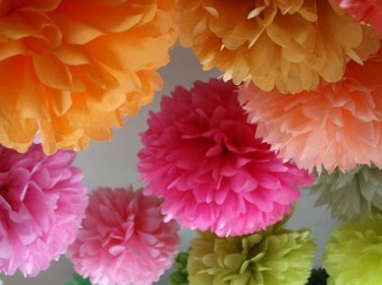 How To Make 18 inch Tissue Paper Flowers