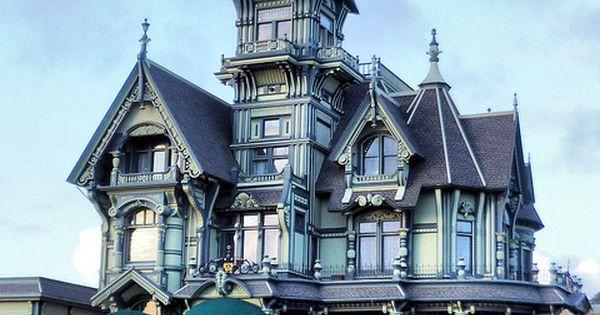 Casas estilo victorianas arquitectura victoriana for Estilos de casas arquitectura