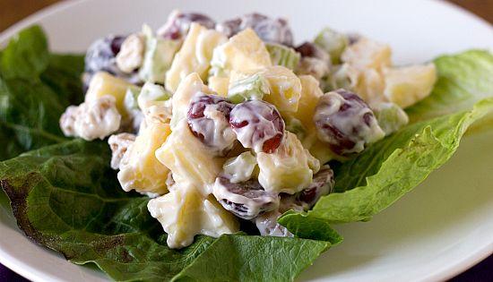 Waldorf salad, Navidad and Salads on Pinterest