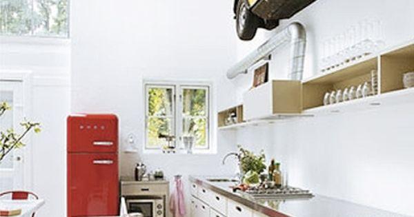 Smeg 50's style refrigerator  sme  Pinterest