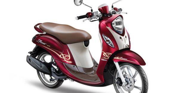 New Yamaha Fino FI 125cc Red Berry Late