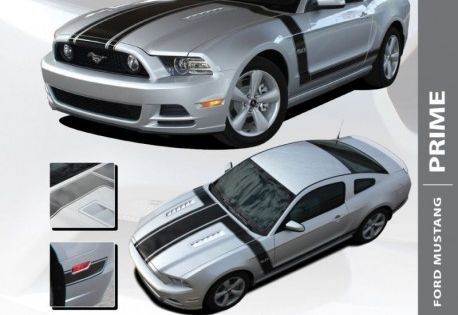 Pin By Autostripekits Com On Auto Stripe Decals Auto Trim Kits Ford Mustang Hood Stripe Mustang