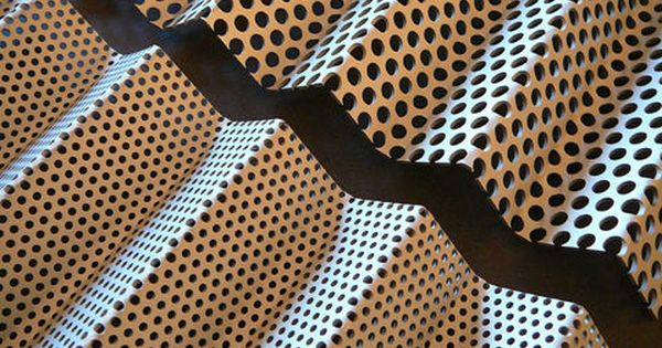 Perforated Sheet Metal Panel Round Holes P 1315 G