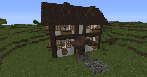 German Houses German Style Quot Starter Quot Houses Minecraft