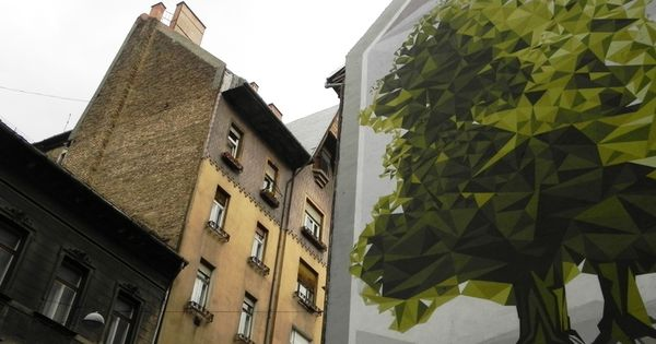 Pin Af Kristine Naundrup Pa Budapest Street Art Med Billeder