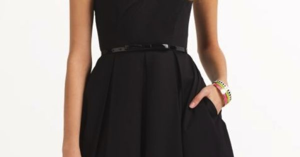 simple black dress, oh oh my