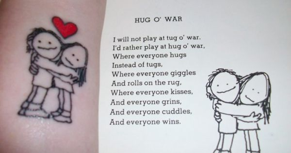 I just love his poems. Wouldn't get that as a tattoo though