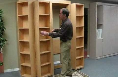I Really Want A Murphy Bed The Fact There S A Book Case