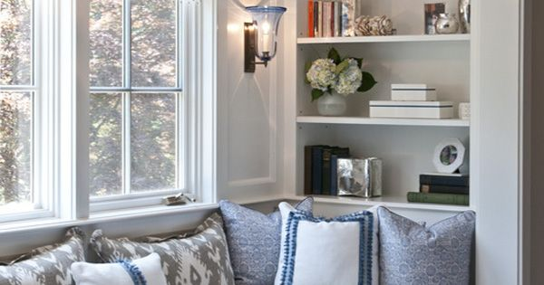 63 Incredibly cozy and inspiring window seat ideas...I like this one but