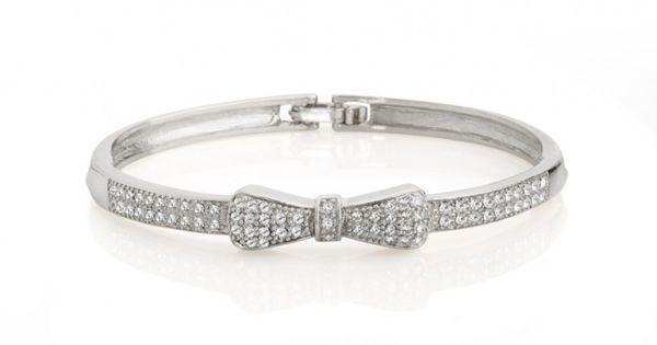 Twilight Bow Tie Bracelet - JewelMint