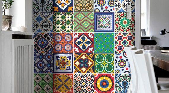 Talavera azulejos especial pegatinas vinilo decoraci n for Pegatinas vinilo decoracion