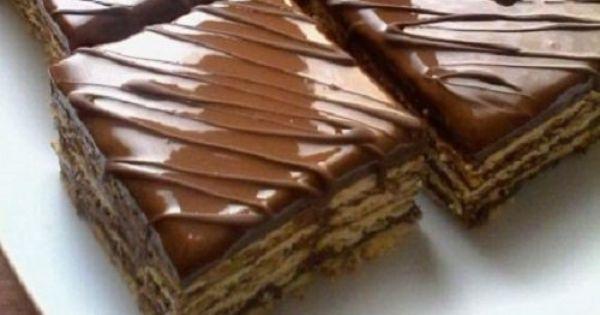 حلى طبقات البسكويت بالنوتيلا طريقة Dessert Recipes Easy Dessert Recipes Yummy Food Dessert