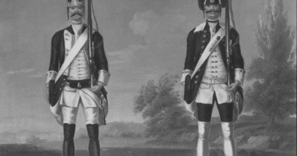 David Morier 1705 70 Grenadiers Infantry Battalion Schwartzburg Rudolstadt German And Walloon Grenadiers Dut The Royal Collection Infantry Battalion