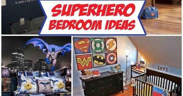 boys room: Superhero Bedroom Ideas - Design Dazzle | Home ...