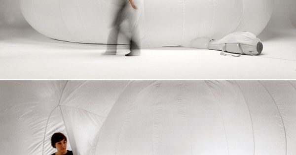 Inflatable Cloud / Monica Förster This reminds me of my childhood -