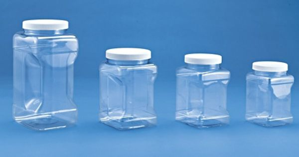 Plastic Grip Jars Clear Grip Jars In Stock Jar Storage Clear Plastic Containers Plastic Animals