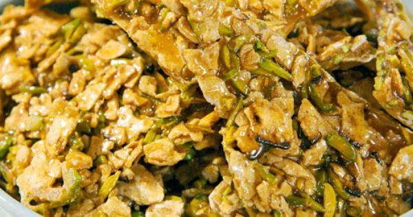 Passover Pistachio Brittle | Recipe | Pistachios, Brittle ...