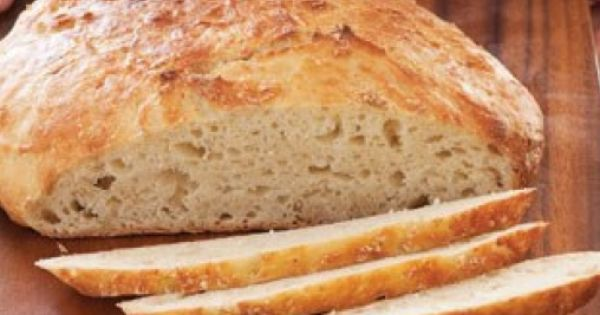 Basic no-knead bread | Healthy Food Guide | Recipes for 2016 ...