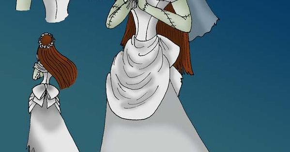 Sally Wedding dress | Nightmare before Christmas ...