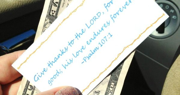 how to pay it forward at a drive thru