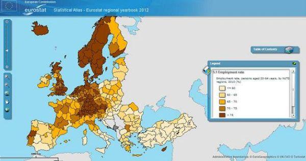 Classifica Delle Regioni Europee Con Meno Disoccupati Con