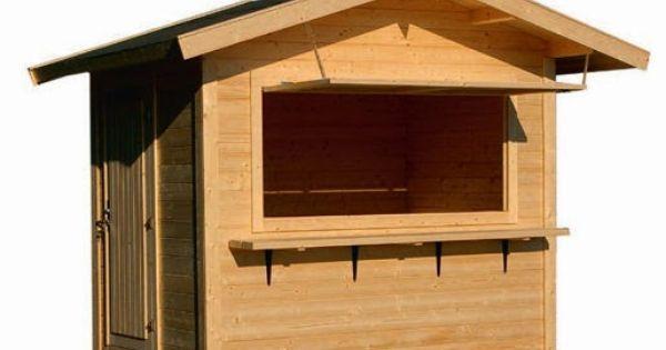 Casas y caba as de madera para el jard n y algo mas for Cabanas de jardin