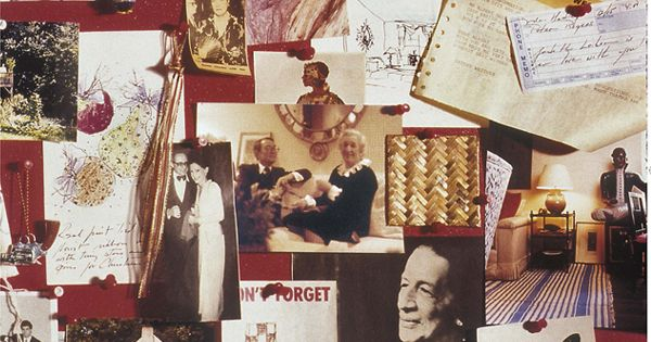 What is on your cork board?: The late, great Albert Hadley's inspiration