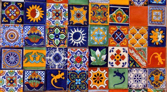 100 azulejos talavera pintadas a mano 2 x 2 por Pintar azulejos a mano