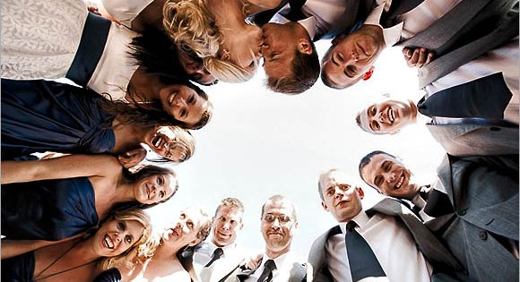 Wedding Party Photography Poses | group photography ideas: 20 creative wedding poses
