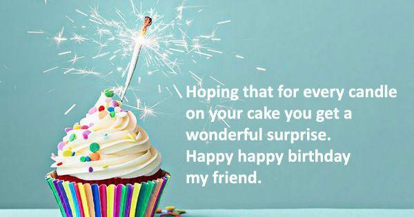 Pin By Hanna Kropkowska On Happy Birthday: Happy Birthday My Friend Quotes - Google Search