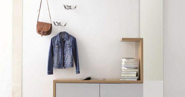 7 tips voor het inrichten van een kleine hal of gang wonen pinterest kapstok for Lay outs van het huis hal