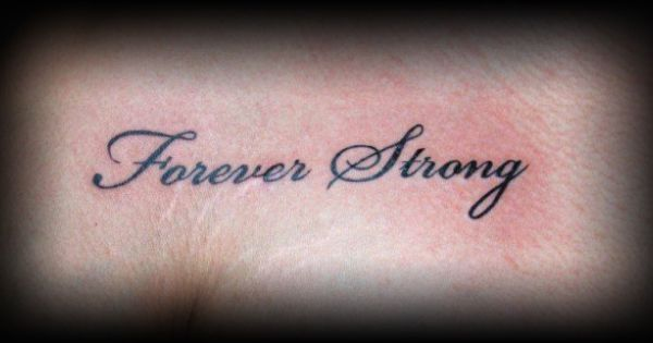 forever strong tattoo on inside of right foot masterpiece on a human canvas pinterest. Black Bedroom Furniture Sets. Home Design Ideas