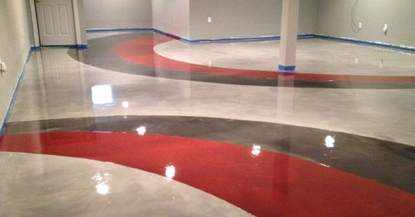 Paint Concrete Floor Ideas