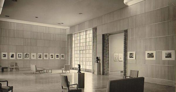 Des moines art center eliel saarinen 1948 architecture for Interior design des moines