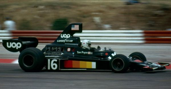 Tom Pryce Shadow Ford Dn5 1975 French Gp Le Castellet With