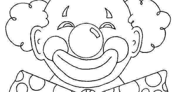 kleurplaat clown strik 28 afbeeldingen