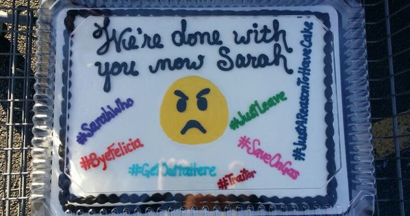Coworker Going Away Cake Funny Cake Cakes Pinterest