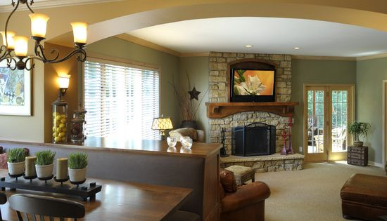 Sunken Seating And Other Home Interior Ideas: Spaces Sunken Living Room Design, Pictures, Remodel, Decor