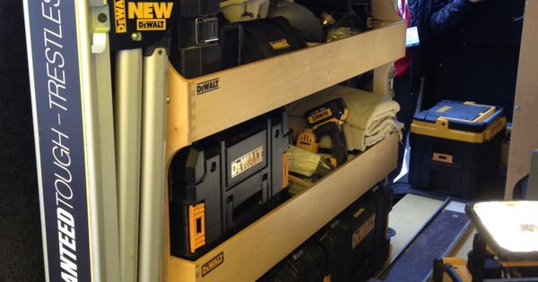 Dewalt Tough Box Racking For A Van Tools In Action Forum