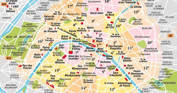 place bastille paris plan