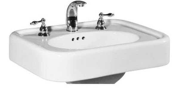 St Thomas Creations Liberty 25 In Pedestal Sink Basin In White 5020 122 01 The Home Depot Pedestal Sink Sink Basin